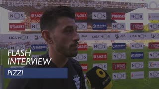 Liga (31ª): Flash Interview Pizzi