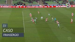 SC Braga, Caso, Fransérgio aos 51'