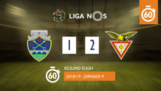 Liga NOS (9ªJ): Resumo Flash GD Chaves 1-2 CD Aves