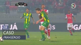SC Braga, Caso, Fransérgio aos 59'