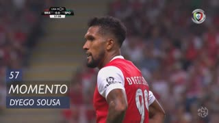 SC Braga, Jogada, Dyego Sousa aos 57'