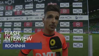 Liga (8ª): Flash interview Rochinha