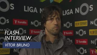 Liga (11ª): Flash interview Vítor Bruno