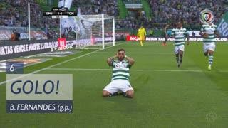 GOLO! Sporting CP, Bruno Fernandes aos 6', Sporting CP 1-0 CD Tondela