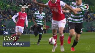 SC Braga, Caso, Fransérgio aos 56'