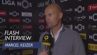 Liga (22ª): Flash Interview Marcel Keizer
