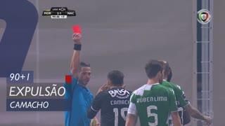 CD Nacional, Expulsão, Camacho aos 90'+1'