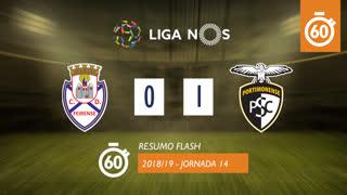 Liga NOS (14ªJ): Resumo Flash CD Feirense 0-1 Portimonense