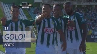 GOLO! Vitória FC, Berto aos 35', Vitória FC 1-0 Moreirense FC