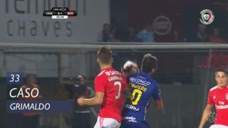 SL Benfica, Caso, Grimaldo aos 33'