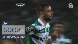 GOLO! Sporting CP, Bruno Fernandes aos 36', Sporting CP 2-0 Rio Ave FC
