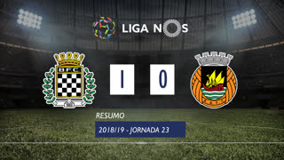 Liga NOS (23ªJ): Resumo Boavista FC 1-0 Rio Ave FC