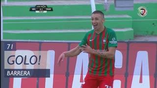 GOLO! Marítimo M., Barrera aos 71', Os Belenenses 0-1 Marítimo M.