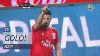 GOLO! SL Benfica, Pizzi aos 49', SL Benfica 2-0 Marítimo M.
