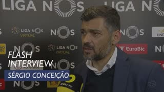 Liga (25ª): Flash Interview Sérgio Conceição
