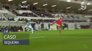 SC Braga, Caso, Sequeira aos 14'