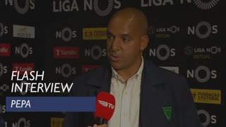 Liga (27ª): Flash Interview Pepa