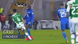 Moreirense FC, Caso, Fábio Pacheco aos 74'