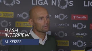 Liga (12ª): Flash interview M. Keizer