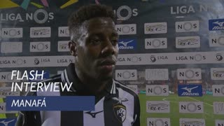 Liga (15ª): Flash interview Manafá