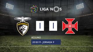 Liga NOS (9ªJ): Resumo Portimonense 1-1 Os Belenenses
