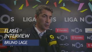 Liga (28ª): Flash Interview Bruno Lage