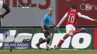 SC Braga, Jogada, Bruno Xadas aos 18'