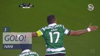 GOLO! Sporting CP, Nani aos 3', Sporting CP 1-0 Moreirense FC