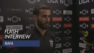 Liga (6ª): Flash interview Rafa