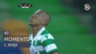 Sporting CP, Jogada, C. Borja aos 40'