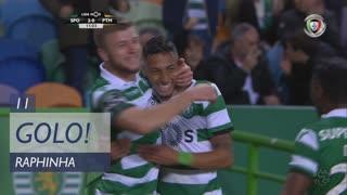GOLO! Sporting CP, Raphinha aos 11', Sporting CP 2-0 Portimonense