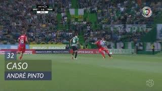 Sporting CP, Caso, André Pinto aos 32'