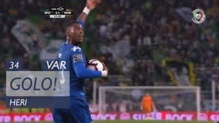 GOLO! Moreirense FC, Heri aos 34', Sporting CP 2-1 Moreirense FC