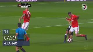 Boavista FC, Caso, A. Tahar aos 34'