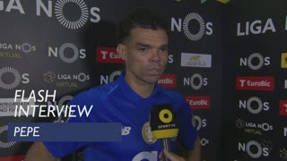 Liga (29ª): Flash Interview Pepe