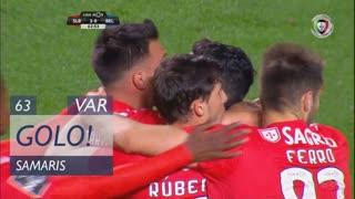 GOLO! SL Benfica, Samaris aos 63', SL Benfica 2-0 Belenenses