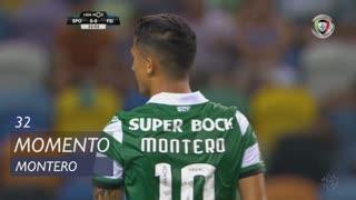 Sporting CP, Jogada, Montero aos 32'