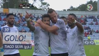 GOLO! CD Feirense, Tiago Silva aos 30', Santa Clara 1-1 CD Feirense