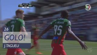 GOLO! Marítimo M., J.Tagueu aos 26', Portimonense 0-1 Marítimo M.