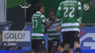 GOLO! Sporting CP, A. Diaby aos 10', Sporting CP 1-0 Portimonense