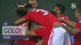 GOLO! SL Benfica, Pizzi aos 10', SL Benfica 1-0 Vitória SC