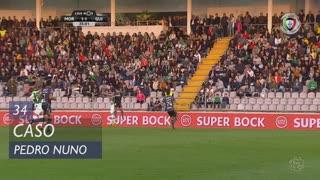 Moreirense FC, Caso, Pedro Nuno aos 34'