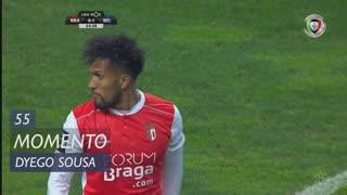 SC Braga, Jogada, Dyego Sousa aos 55'