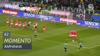Sporting CP, Jogada, Raphinha aos 62'