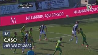 CD Tondela, Caso, Hélder Tavares aos 38'