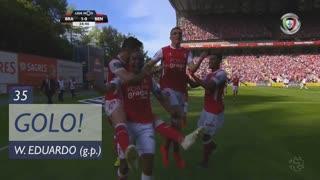 GOLO! SC Braga, Wilson Eduardo aos 35', SC Braga 1-0 SL Benfica