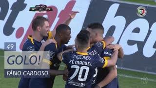 GOLO! Sta. Clara, Fábio Cardoso aos 49', Vitória FC 0-2 Sta. Clara
