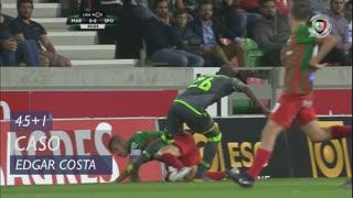 Marítimo M., Caso, Edgar Costa aos 45'+1'