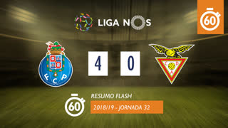Liga NOS (32ªJ): Resumo Flash FC Porto 4-0 CD Aves