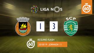 Liga NOS (11ªJ): Resumo Flash Rio Ave FC 1-3 Sporting CP